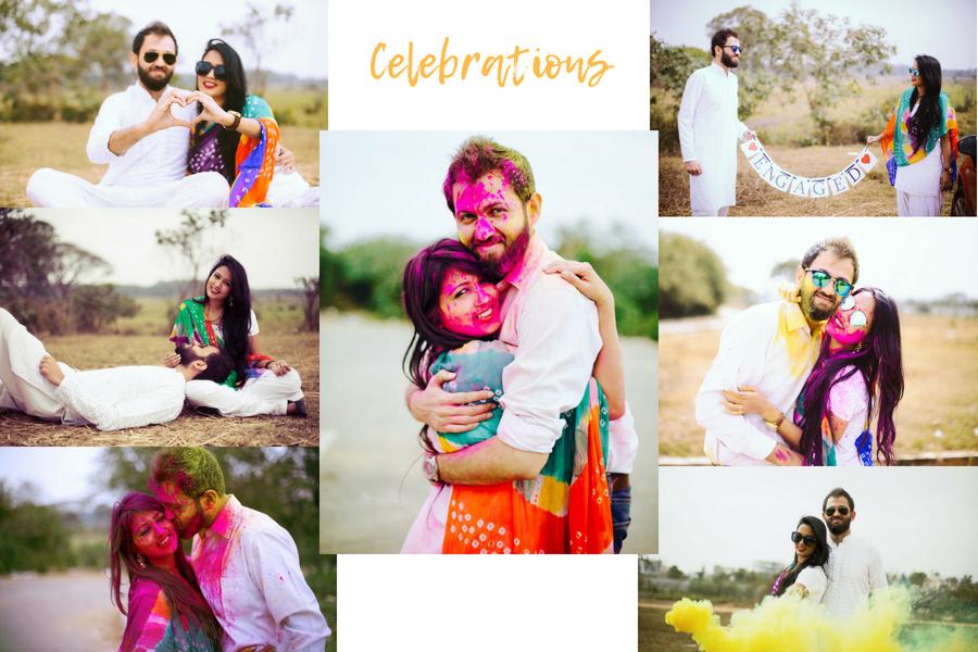 Holi Pre wedding