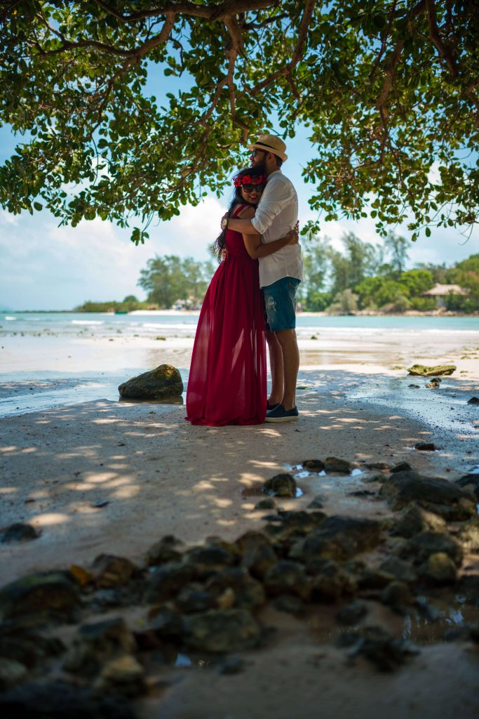 koh samui couple vacation photoshoot anmeh