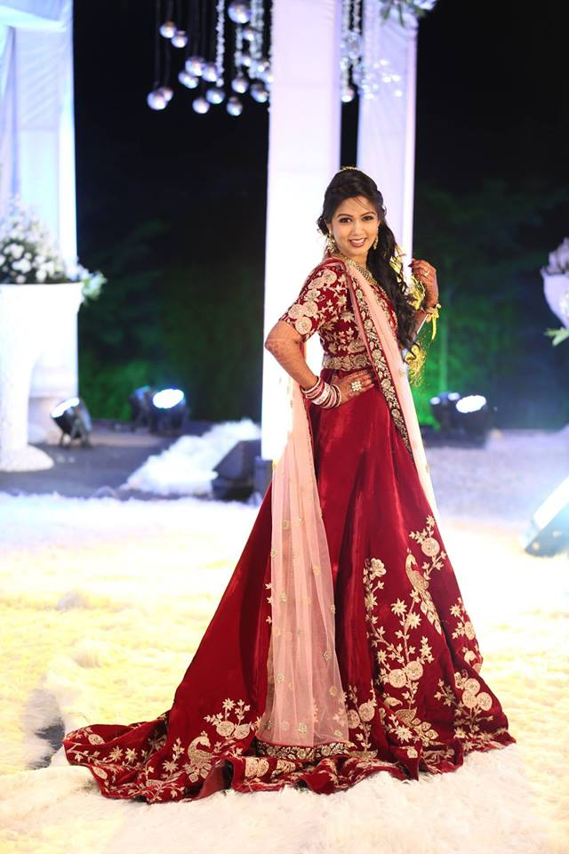 Reception Lehenga Anmeh- Bridal story