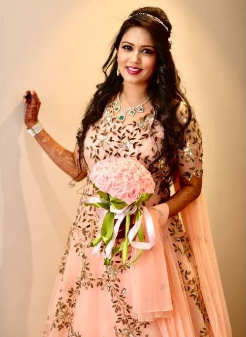 Sangeet gown Anmeh Bridal story